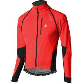 Löffler San Remo Windstopper Softshell Bike Zip-Off Jacke Herren rot
